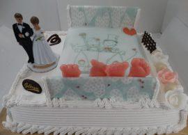 le lit des mariés