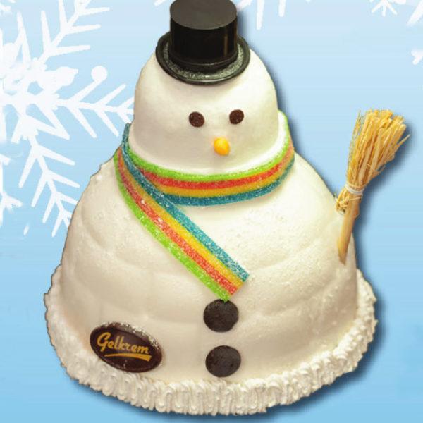 le bonhomme de neige 8parts 720g gelkrem